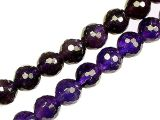 Perlen Amethyst facettiert 8mm