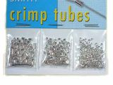 Crimp Tubes Mix Silverplated