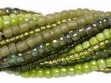 Seed Bead Mix Light Green