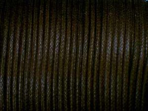 Cotton Cord 2mm Dark-Brown Standard