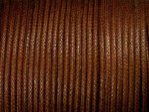 Cotton Cord 2mm Light-Brown Standard