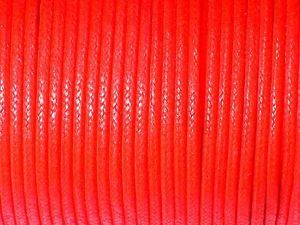 Cotton Cord 2mm Red Standard