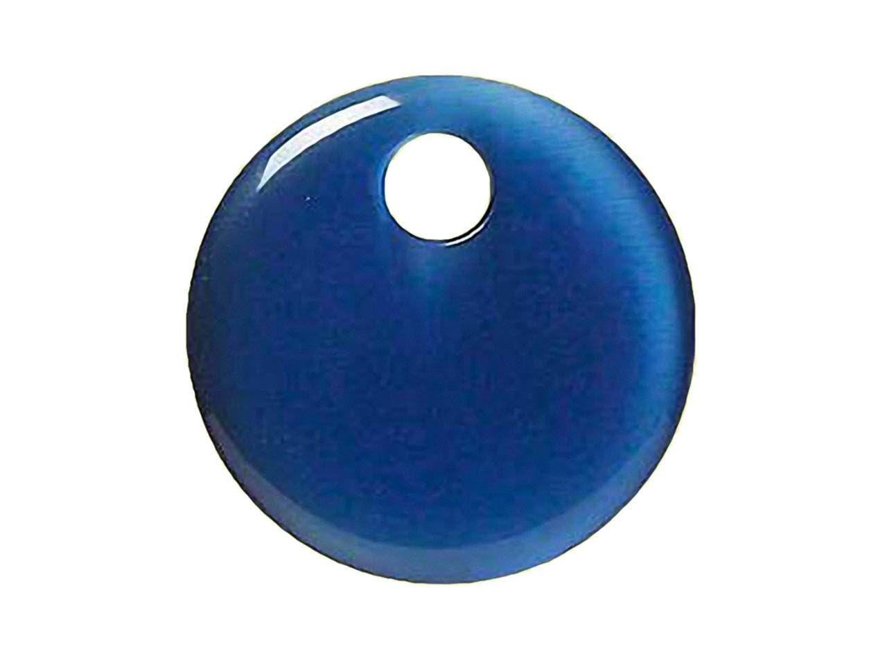 6 mm 50 Crackleglasperlen in blau /& flieder