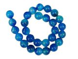 Bead blue Agate 10mm
