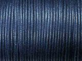 Cotton Cord 1mm Blue Standard