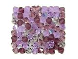 Czech Crystal Beads Lilacs 4mm