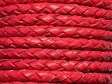 Leathercord Braided 4mm Malve