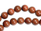 Goldstone Beads 8mm round