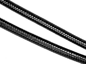 10m Reptile Jewelry Cord Black 3mm