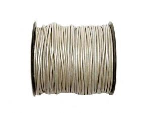 50m Leathercord Mother OF Pearl 2mm