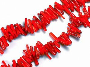 Beads Bamboo Coral Sticks