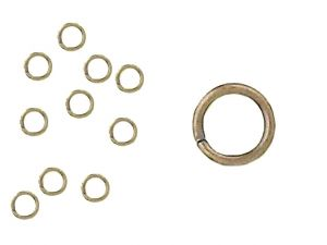Jumprings Goldplated Antiqued 5mm