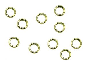 Jumprings 0.8mm Closed Brass 5.5mm