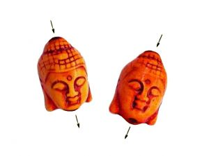 Buddha Bead Orange