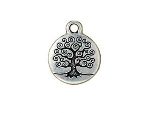 Charm Tree-Of-Life Silver Plated