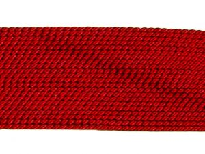 Silk Bead Cord Garnet-Red 0,75mm