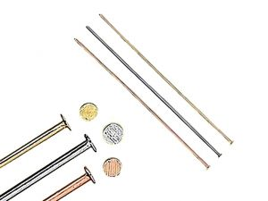 Headpins 0.5mm Flathead Mixed 5cm