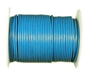 Leathercord spool doveblue 2mm