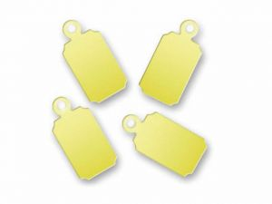 Logo Charms Loop Rectangle Brass