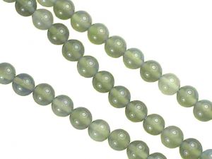 Beads Agate Grey Round 6mm