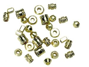 Beads Brass Spacer Mix