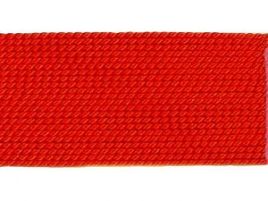 Silk Bead Cord Coralred 0.3mm Card 2m