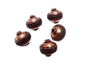 Beads Petang Copper 15mm - 3pcs