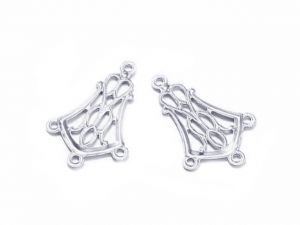 Earring Charms Art DecoSurgical Steel 20 PCS