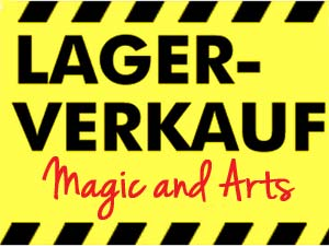 Lagerverkauf Magic and Arts 2012