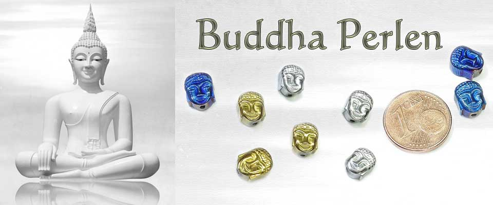 Neu: Buddha Perlen aus Hämatit