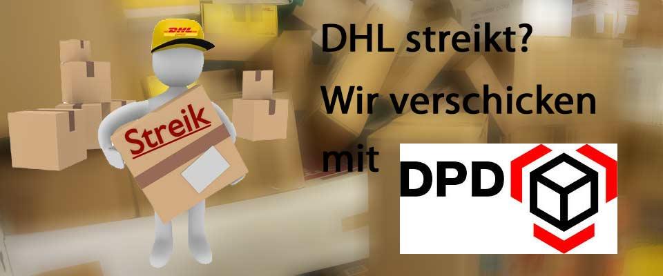 DHL- und Poststreik