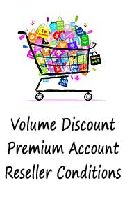 Discounts, Premiumaccounts and Reseller conditions at Magic and Arts