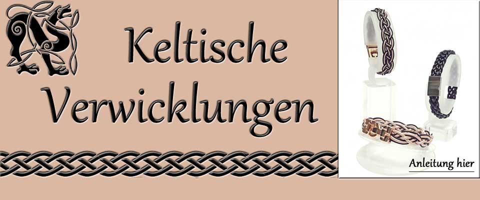 Anleitung Flechtarmband im keltischen Stil