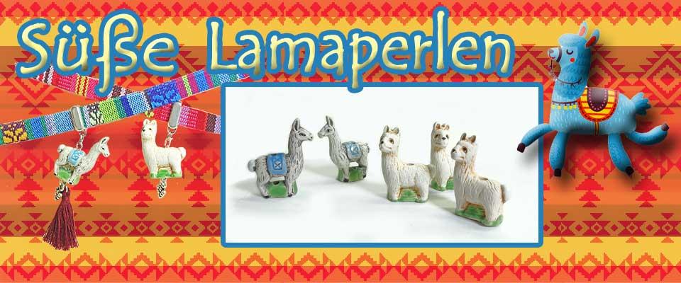 Niedliche Perle Lama-Alpaka