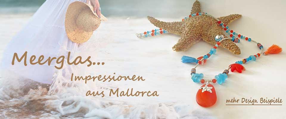 Meerglas - Schmuckstyles aus Mallorca