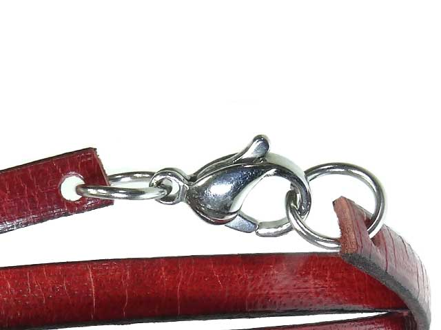 Lobster claw clasp for bracelets